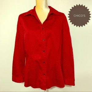 Chico's Button-down Top